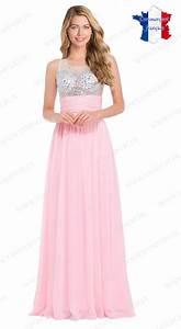 robes elegantes robe longue rose clair pas cher With robe rose pas cher