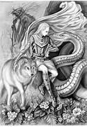 Loki the Norse god  Gr...