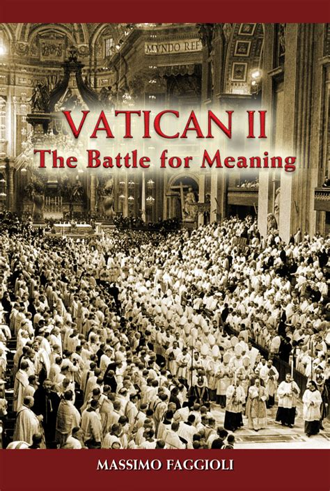 definition of siege vatican ii by massimo faggioli