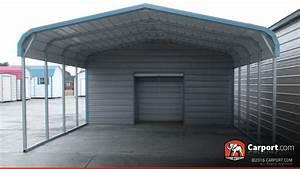 Carport 2 Autos : 2 car carport 18 39 x 26 39 with utility shed shop metal ~ A.2002-acura-tl-radio.info Haus und Dekorationen
