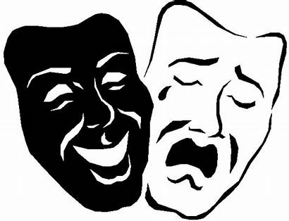 Drama Mask Masks Theater Clipart Transparent Faces