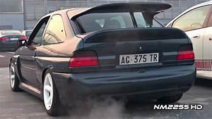 Ford Escort Rs Cosworth Turbo Anti-lag Backfiring