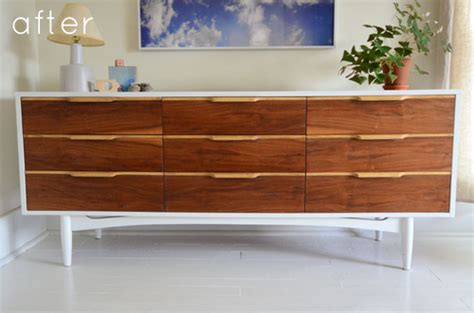 century modern dresser diy before after mid century credenza makeunder design sponge Mid