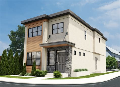 house plans for a narrow lot contemporary narrow duplex house plan hunters