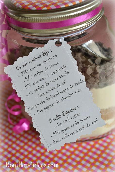 cadeau fte des meres fait maison cadeau gourmand le kit sos cookies