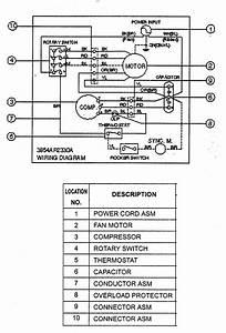 Goldstar Wm5000 Room Air Conditioner Parts