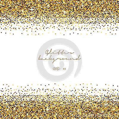 golden glitter border background tinsel shiny backdrop