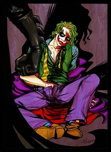 The Joker :-D - The Joker Fan Art (2026635) - Fanpop