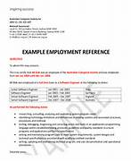 Employment Reference Letter 7 Free Word Excel PDF Job Reference Letter Template Uk Job Reference Example Uk Character Reference Sample Letter Of Character Template Template Design