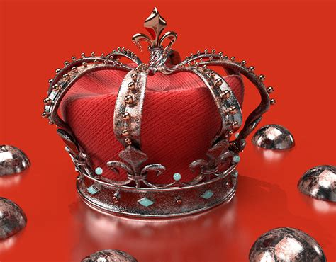 The Red Crown on Behance