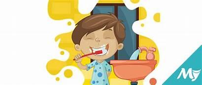 Cleaning Clipart Washing Bath Teeth Bathroom Should