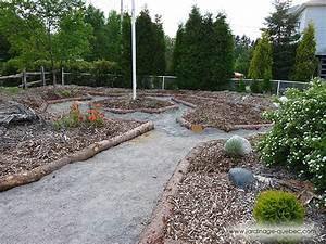 Amenager Un Petit Jardin Sans Pelouse : am nager un jardin devant une r sidence guide plan photos ~ Melissatoandfro.com Idées de Décoration