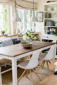Esszimmer Moderner Landhausstil : best 25 bright kitchens ideas on pinterest kitchens with white cabinets bohemian kitchen and ~ Markanthonyermac.com Haus und Dekorationen