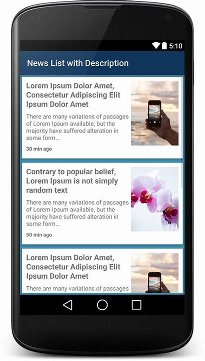 Ui Xml Android Example Feed Shot Reader