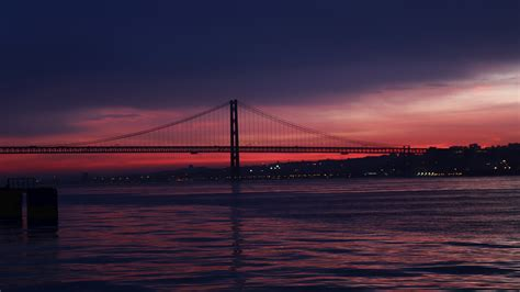 wallpaper bridge silhouette  architecture