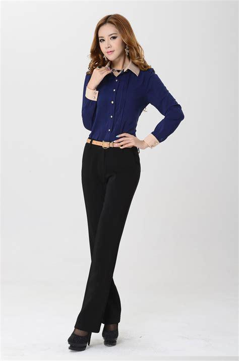 baju wanita murah 169 kemeja wanita kantoran lengan panjang model terbaru