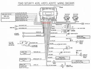 Toad A100 Plus Alarm Wiring Diagram