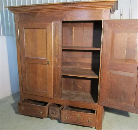 How To Say Cupboard In by German Oak Bookcase Or Housekeepers Cupboard Antiques Atlas