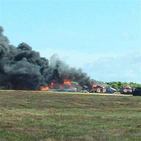 B-52 Bomber Crashes On Guam