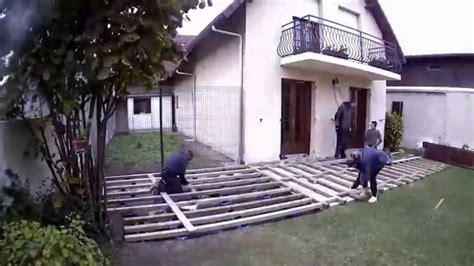 creation d une terrasse en bois composite fran 231 ais