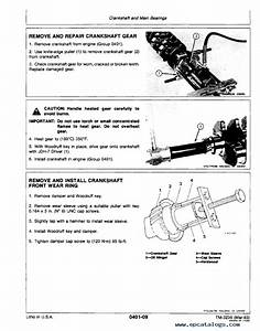 John Deere 444c Loader Tm3236 Technical Manual Pdf