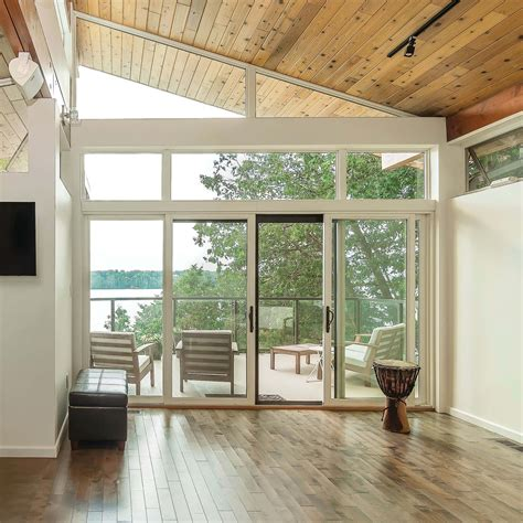essential contemporary lake home marvin