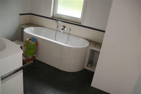 Halb Freistehende Badewanne by Vera Christophs Baublog 187 Sanit 228 Rinstallation