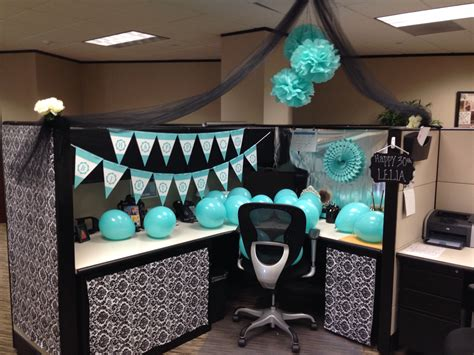 desk decorations for guys cubicle decoration birthday crafty things pinterest