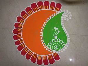 Easy Rangoli designs for Diwali 2017 - Rangoli Kolam Designs