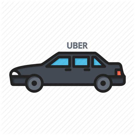 Auto, Car, Taxi, Uber Icon