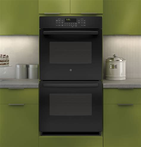 jkdfbb ge  built  double convection wall oven black
