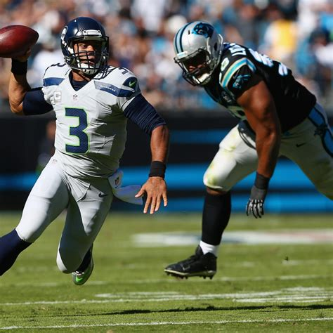 seahawks  panthers score  twitter reaction