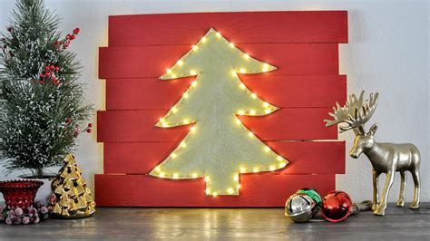 Wallstickerdeal.com is a leading online store committed to becoming the best reliable. DIY Christmas Wall Decor Idea - Light Up LED Tree - Anika's DIY Life