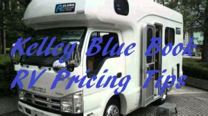 kelley blue book rv pricing tips  cars