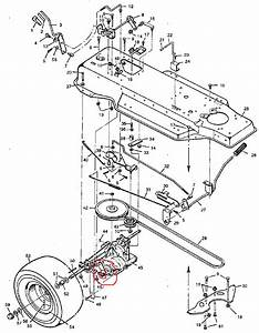 Murray Riding Mower  How To Adjust Brakes