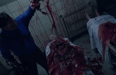 blood guts gore   usher  ash  evil dead