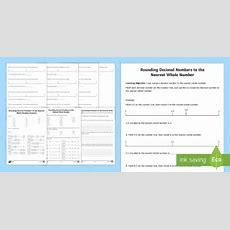 Rounding Decimals Worksheet  Activity Sheet  Rounding, Decimals, Worksheet
