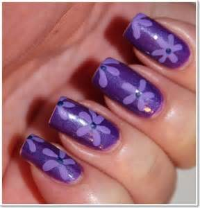 Cool purple nail designs