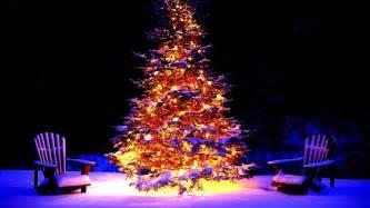 christmas xmas christmas tree snow chairs gifts lights christmas tree lighting wallpapers