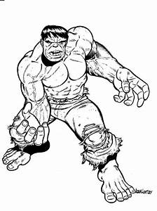 Incredible Hulk Coloring Pages - AZ Coloring Pages