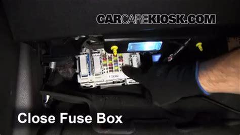 interior fuse box location   ford focus