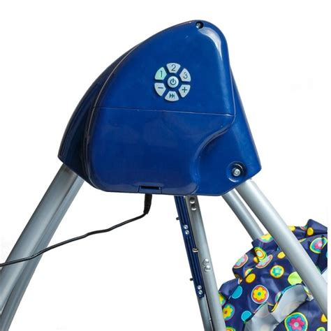 chaise haute balancelle 2 in 1 highchair baby swing blue navy highchairs and baby chairs bambino