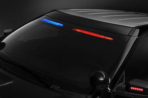 ford offers  profile interior visor light bar