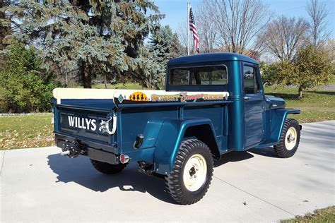willys jeep truck green 1955 willys jeep pickup 212875