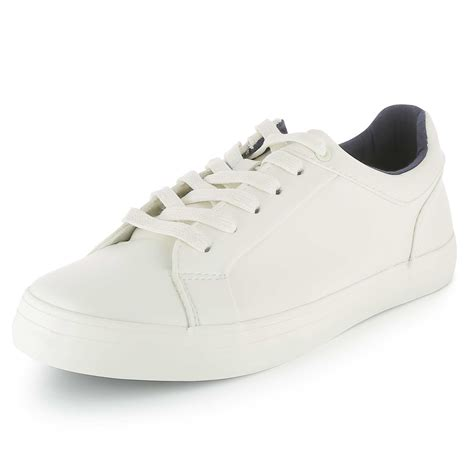 Maybe you would like to learn more about one of these? Baskets basses blanches en simili Chaussures - blanc ...