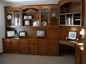 Custom home office cabinets cabinet wholesalers for Home office built in furniture