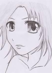 Manga Girl Drawing Sketches