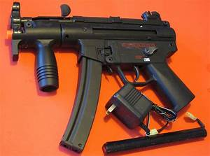 Galaxy Metal Gearbbox Electric Airsoft Gun MP5K Great CQB ...