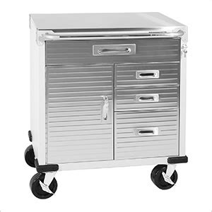 Stainless Steel Rolling Cabinet by Seville Classics Uhd20210b Ultrahd Stainless Steel Top