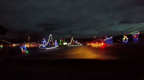 christmas light show skylands stadium video skylands stadium light show 2016
